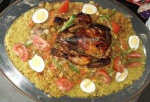 Recette Tchebou guinar / tchep au poulet