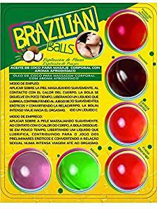 Boules de massage:Boules Brésiliennes x 6 Différentes Saveurs