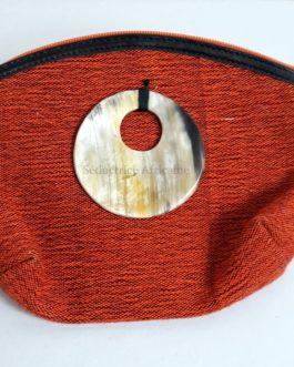 Pochette colorée en pagne tissé du Burkina Fasso: Le faso dan fani