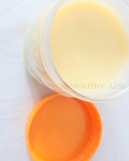 Pommade de corps Beurre de karité citron 330g