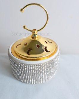 Encensoir céramique strass
