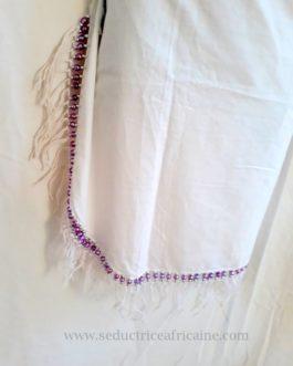 Pagne/bethio/pendeli traditionnel et sensuel fait main