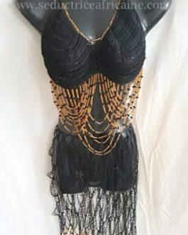 Nuisette traditionnelle et sensuelle fait main (Robe)