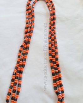 Bine bine / baya / perles de reins / collier de hanche T42 à 46