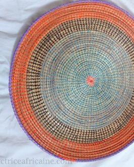 LAYU / Fibres de roniers tressés du Sénégal : 46 cm
