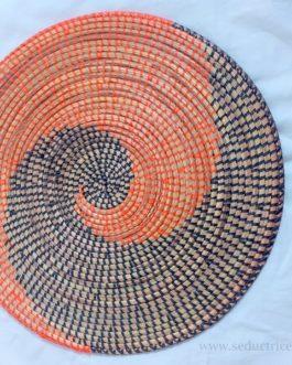 LAYU / Fibres de roniers tressés du Sénégal : 31 cm