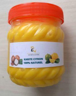 Pommade de corps Beurre de karité citron 310g