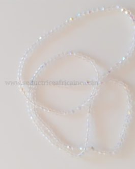 Bine bine CRISTAUX / baya / perles de reins / collier de hanche T38 à 42