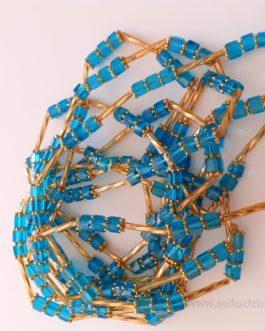 Bine bine / baya / perles de reins / collier de hanche T38 à 40