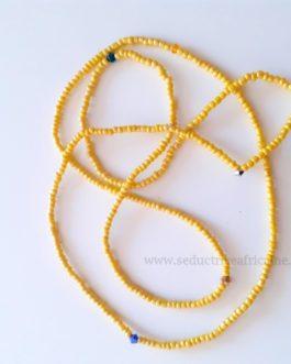 Bine bine / baya / perles de reins / collier de hanche T44 à 46
