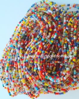 Bine bine rasta last/baya / perles de reins / collier de hanche T42 à 44